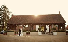 Gaynes Park, Essex  For a-mazing style  Why settle for just a barn when you can have an orangery, too? Gaynes Park is well known as one of Essex's best wedding venues, and it's easy to see why...