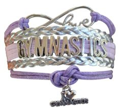 Gymnastics Love wrap bracelet