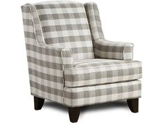 Best Black White Buffalo Check Ethan Parker Chair By 400 x 300