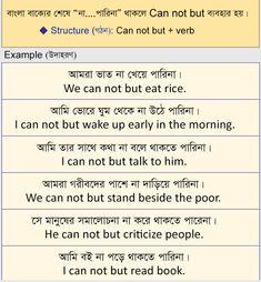 স্পোকেন ইংলিশ রুল -০৬ - Spoken English with Bengali