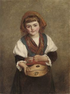 The Sweetest Little Beggar That E'er Asked For Alms-William Powell Frith (1819 – 1909, English)