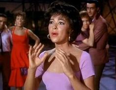 A bit of a stretch, but hey, it could totally happen.  Anita- West Side Story