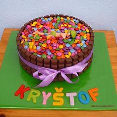 lentilkový dort - Hledat Googlem Birthday Cake, Desserts, Food, Tailgate Desserts, Deserts, Birthday Cakes, Essen, Postres, Meals