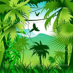 джунгли вектор - Поиск в Google