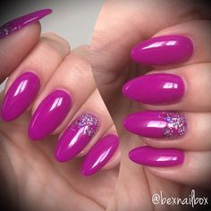 Bluesky Gel Polish Neon 28 GlitterArty Glitter - Glam