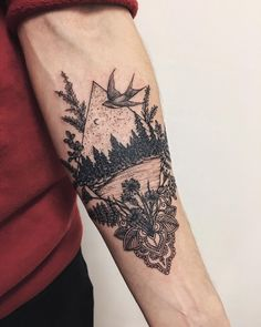 To se mi líbí, 11 komentářů – Yaana Gyach Boho Tattoos, Tattoos Skull, Cute Tattoos, Beautiful Tattoos, Body Art Tattoos, New Tattoos, Geometric Dotwork Tattoo, Geometric Tattoo Pattern, Geometry Tattoo