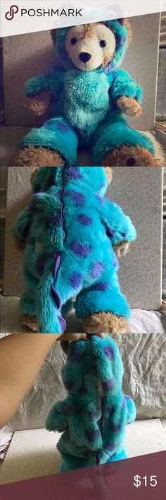 Duffy Bear Sully Costume This Sully costume is in good condition(bear not included)and looks super cute on Duffy. I'd definitely be willing to do a bundle for anyone who wants the costume and the Duffy Bear. Disney Other
