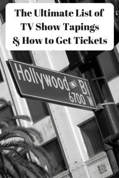 Learn how to get tickets to tv show tapings like SNL, Ellen, Jimmy Kimmel, The Big Bang Theory and More