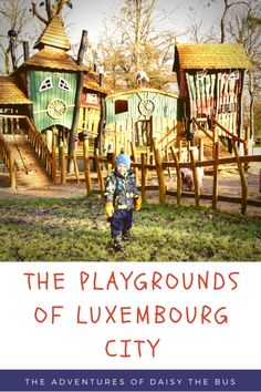For a European city break with kids, the incredible playgrounds of Luxembourg City will put smiles on the faces of the whole family.