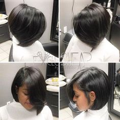 STYLIST FEATURE| Love this healthy hair #bob styled by #dallasstylist @billiejross ✂️ So much body❤️ #voiceofhair