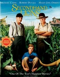 """""""Secondhand Lions is one of those rare little gems where tough decisions must be made but you will laugh and cheer at the wonders and possibilities life has to offer.""""       I thought it would be cute and funny.  I found it profound."""
