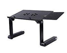 amazoncom easy adjustable reading portable desk helper design wx2 mini airflow cooling lightweight working at the bed suit for tv dinner