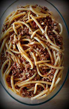 Spaghetti, Pasta, Ethnic Recipes, Greece, Food, Greece Country, Essen, Meals, Yemek