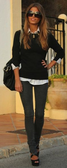 black and white | fashion | style