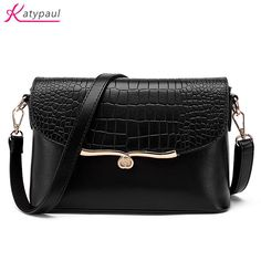 New Fashion Small Bag Women Messenger Bags Soft PU Leather Handbags Crossbody Bags For Women Clutches Bolsas Femininas Black Bag #Affiliate