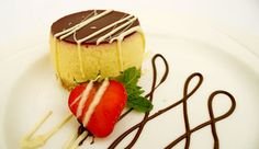 Delicious desserts at Weetwood Hall Hotel