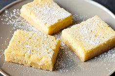 Lemon-Ricotta Bars *Gotta figure out how to make these gluten free