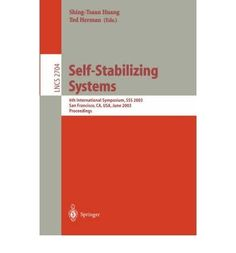 Introducing SelfStabilizing Systems 6th International Symposium SSS 2003 San Francisco Ca USA June 2425 2003 Proceedings Lecture Notes in Computer Science Paperback  Common. Buy Your Books Here and follow us for more updates!