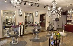 Love this color palate, especially the wall color, and the chandeliers are awesome
