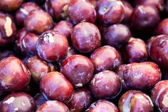 The first plums at Davis Farmers Market by continental drift, via Flickr