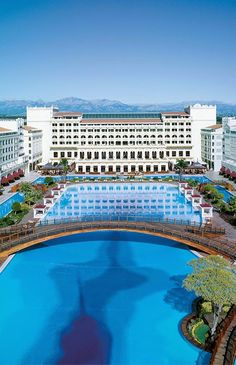 The Mardan Palace is a luxury hotel in Lara, Antalya, Turkey, built by Azerbaijani businessman Telman Ismailov It is considered Europe's and the Mediterranean's most expensive luxury resort.