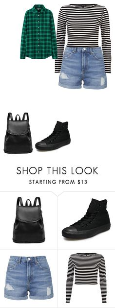 """""""Science Center Field Trip"""" by thethreetottalytweens on Polyvore featuring Converse, Topshop, River Island and Uniqlo"""