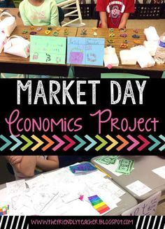 Market Day is a must in your classroom! Teach students all the economics skills they need using this project!