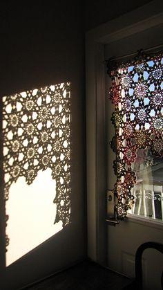 Ravelry: RoseMs Spring/Summer Kitchen Curtain