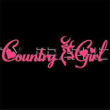 Country Girl Decals For Windshield Browning Head Deer Country - Car decal sticker girl