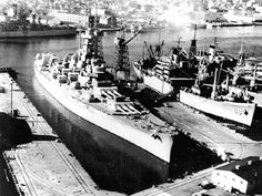 U.S. Navy Battleships - USS Massachusetts (BB 59)