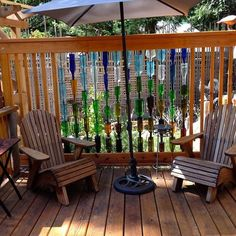 How to build a bottle privacy screen | DIY projects for everyone!