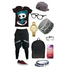 A fashion look from January 2015 featuring Vans sneakers, Oasis watches and Vans hats. Browse and shop related looks.