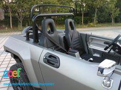 Elektrische mini Hummer http://zoef.com/vervoer/elektrisch-vervoer/elektrische-auto/