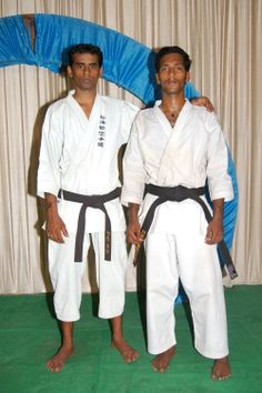 karate sankar with students