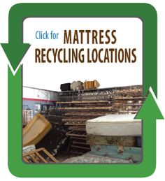 Yes, you can recycle your mattress! The Mattress Recycling Council has put together a map of mattress recycling locations around the US and Canada.