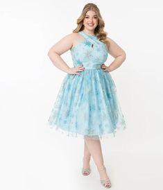 Plus Size Work Dresses, Plus Size Outfits, Sparkle Outfit, Vintage Outfits, Vintage Fashion, Cocktail Attire, Swing Skirt, Trendy Clothes For Women, Unique Dresses