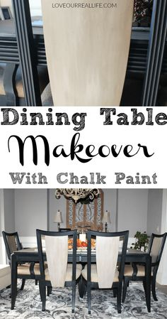 Dining Table Makeove