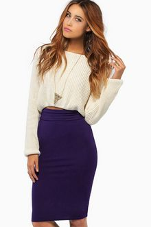 Purple Pencil Skirt | Products