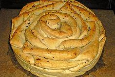 Kräuter-Zupfbrot in der Springform Herb pluck bread in the springform of electro-elephant Toast Foie Gras, Bread Recipes, Snack Recipes, My Daily Bread, German Bread, Baking Basics, Springform Pan, Turkish Recipes, Artisan Bread