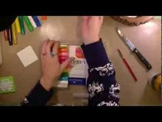 ▶ Art Geeks The Artistic Pagan's Product Talk #3 Water Soluble Crayons and Pastels - YouTube