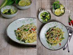 Grünes Thai Curry mit Spargel | Vegan green Thai-Curry with asparagus via www.uebersee-maedchen.de