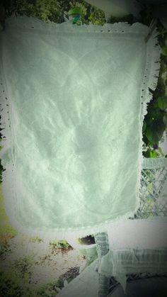 Vintage Sham in white by MyShabbyValentine on Etsy, $9.50