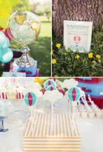 up up and away birthday party ideas
