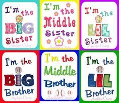 Sibling design Pack