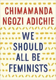 We Should All Be Feminists author TED Talk