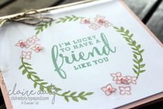 Stampin Up Love What