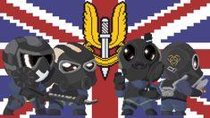 Rainbow Six Siege - S.A.S. fan art by Crusader1291