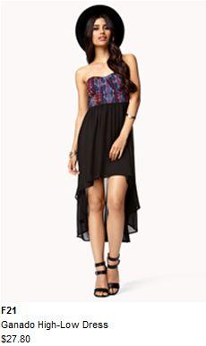 Cute F21 low-high dress