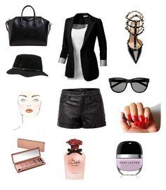 """Sin título #43"" by carolinaramirez-1 on Polyvore featuring moda, Theory, J.TOMSON, Valentino, Givenchy, Yves Saint Laurent, Rip Curl, DKNY, Urban Decay y Dolce&Gabbana"