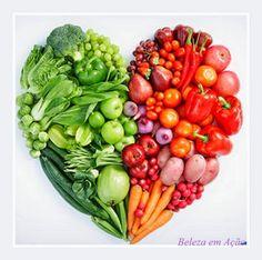 BELEZA EM AÇÃO: Cronograma Alimentar - Nutrindo os cabelos de dent...